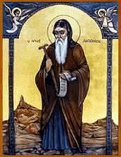 القديس الأنبا أنطونيوس أب كل
